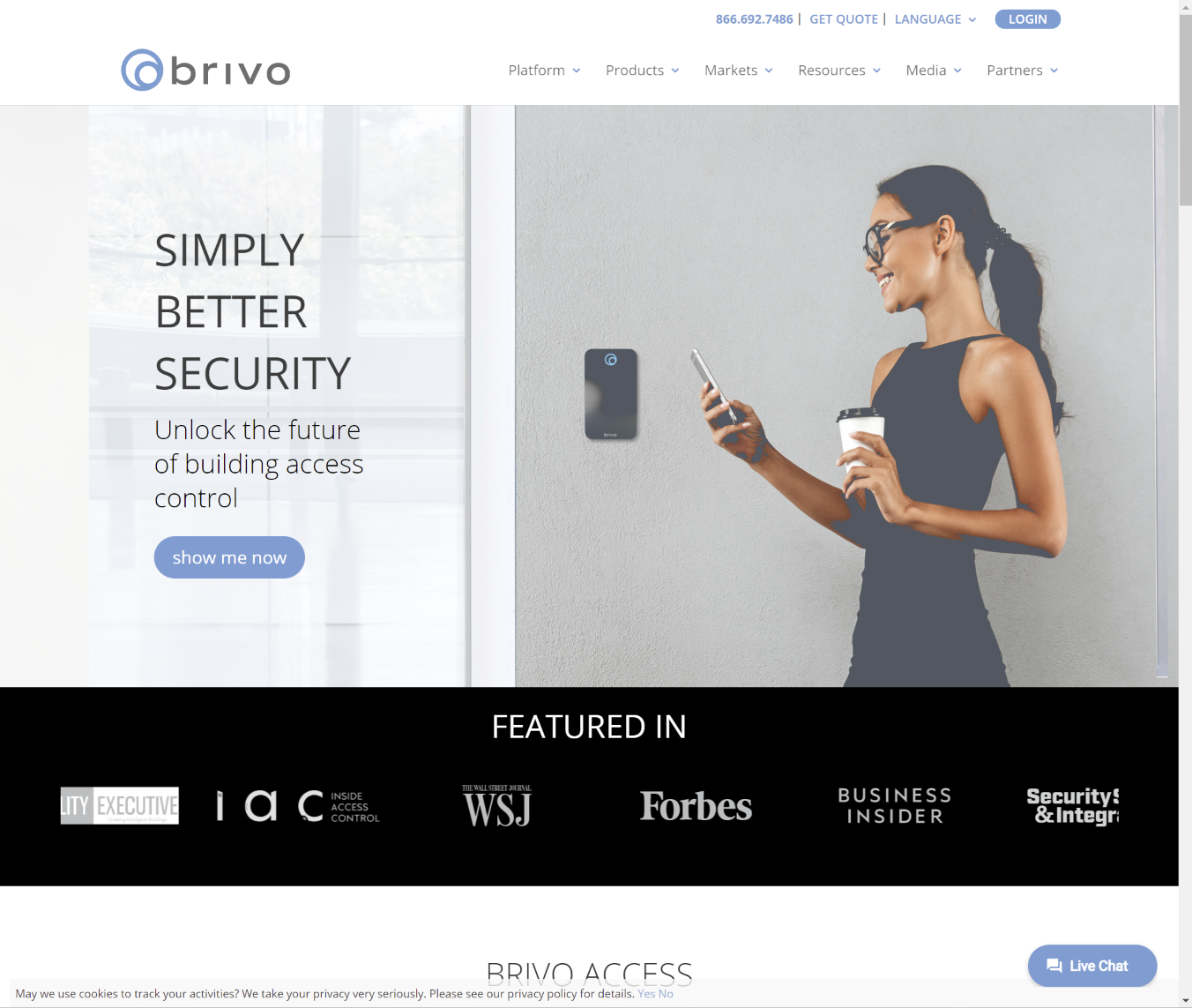 Cloud Access Control by Brivo