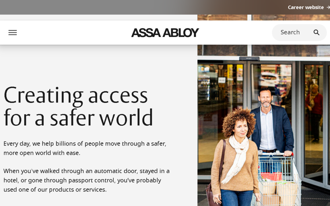The ASSA ABLOY Group
